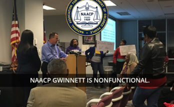 Meeting of Gwinnett NAACP