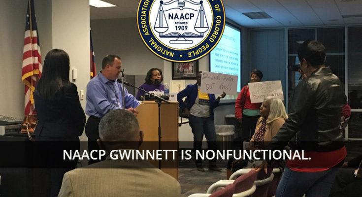 Meeting of Gwinnett NAACP