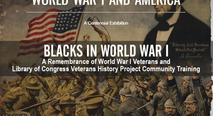 Blacks in World War I Cover Graphic