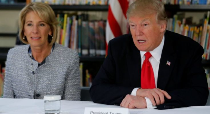 """Congressman To Trump: Betsy DeVos is """"Rich, White, and Dumber Than a Bag of Hammers"""""""