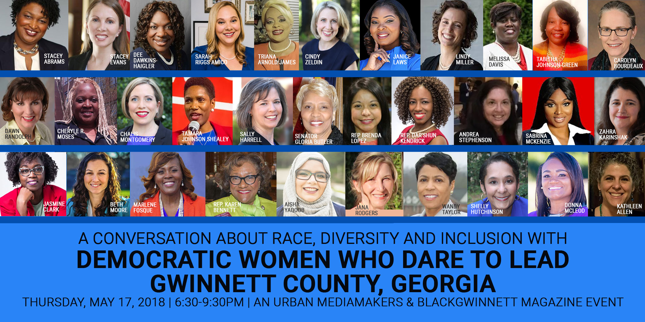Democratic Women Who Dare to Lead Gwinnett County, GA FREE