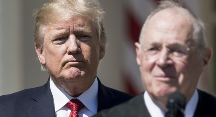 Justice Kennedy Chose To Let Trump Pick His Replacement. That's His Legacy.