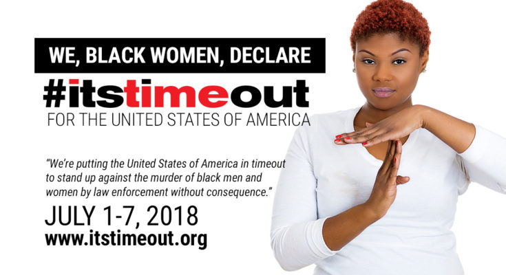 #Itstimeout for America