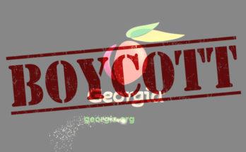 #BoycottGeorgia