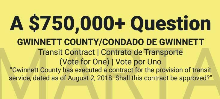 A $750,000 Question - Gwinnett County, GA