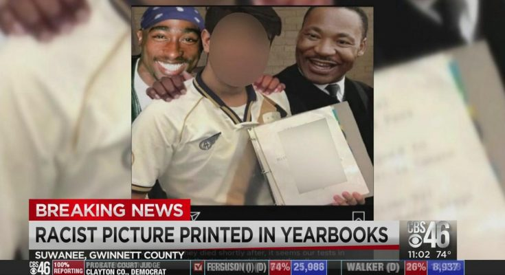 collins hill school racist yearbook
