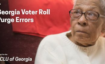 Georgia Voter Roll Purge