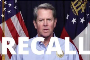 Campaign Launched to Recall Georgia's Republican Gov. Brian Kemp